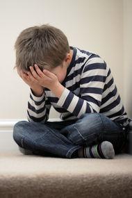 Stres çocuklarda depresyon sebebi