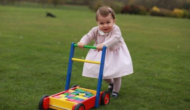 Prenses Charlotte'nin yeni oyuncağı
