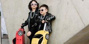 Miniklerin moda tutkusu