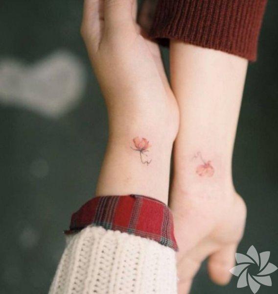 <p>Arkadaş dövmeleri</p>