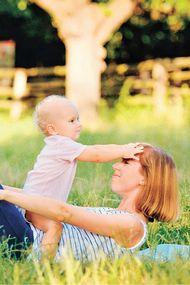 5 adımda bebekle spor