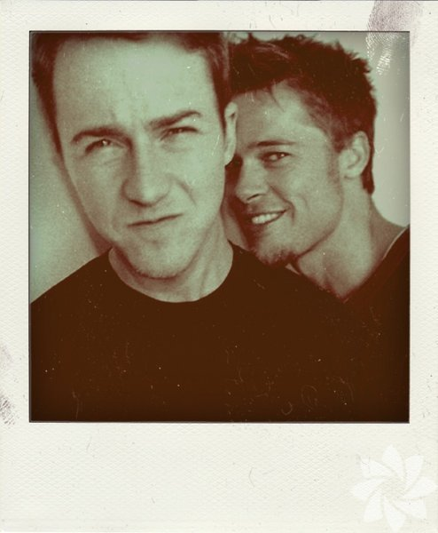 Edward Norton ve Brad Pitt