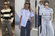 Trend: Çizgili pantolonlar