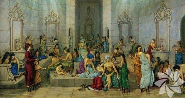 Osmanlı'da Perşembe akşamları, bayram ve diğer özel günler arifesinde hamama gitme geleneği vardı.