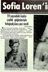 Ünlülerin eski gazete haberleri
