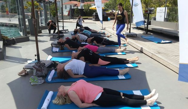 Haziran ayı boyunca her Cuma ücretsiz yoga dersi