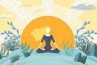 Güzel göğüsler için etkili 7 yoga duruşu
