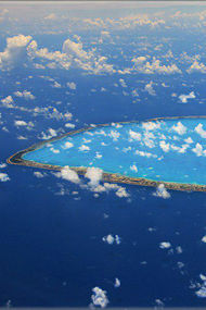 Daire şeklindeki ada: Tikehau