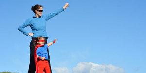 Engelli çocuklar ve engel tanımayan anneleri