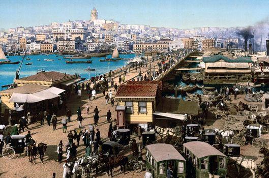 1890 yılından İstanbul fotoğrafları