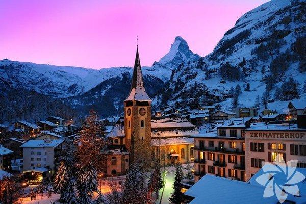 Zermatt Köyü - İsviçre