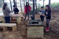 İlk kamp ateşi