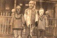 1930'lu yıllarda Cadılar Bayramı kostümleri