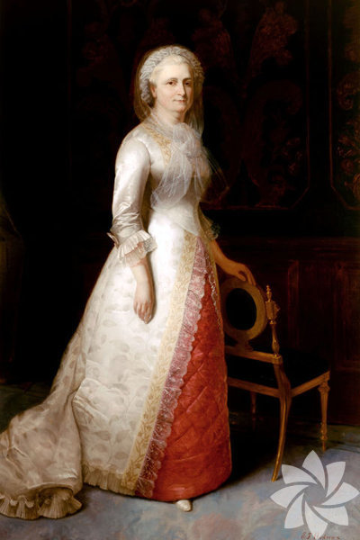 <p>Martha Washington 1789-1797</p>