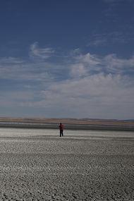Fotoğrafçılar, Tuz Gölü'ndeki kuraklığı belgeledi