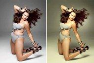 Ünlülerin photoshopsuz halleri