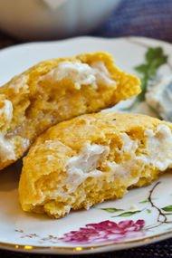 Ballı tereyağlı patates bisküvileri
