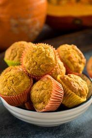 Balkabaklı muffin