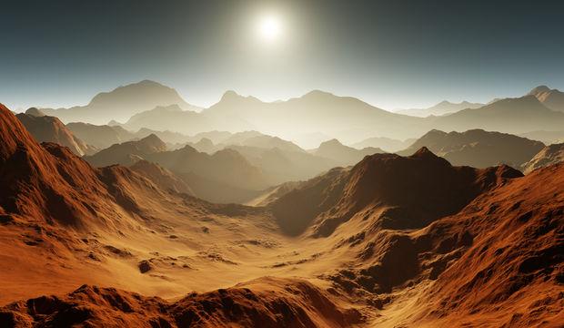Mars'ta insanlığa ikinci bir ev