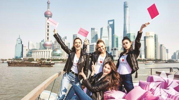 Victoria's Secret melekleri tarihte ilk defa Victoria's Secret Fashion Show kapsamında Şangay'da yürüyecek.