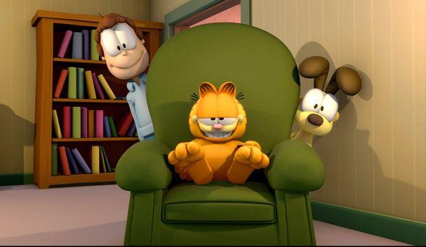 Garfield çağırıyor