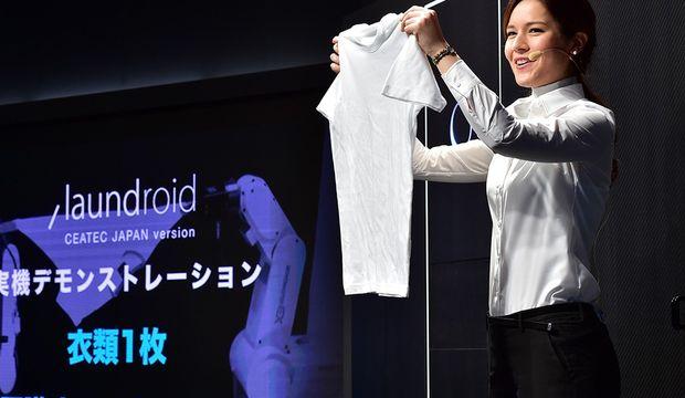 Giysi katlayan robot gerçek oldu