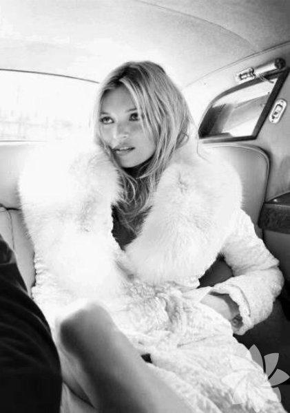 Tüm zamanların en iyi modeli: Kate Moss