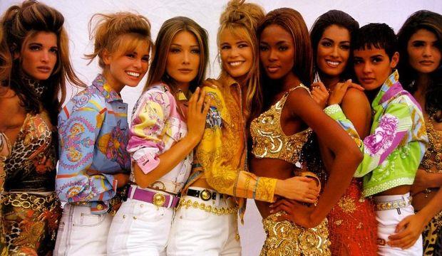 Dönem makyajları: 1990'lı yıllarda makyaj