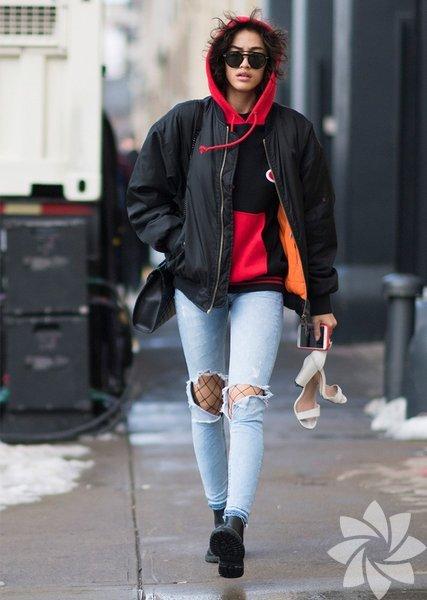 Sokak stili: New York Fashion Week 2017