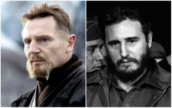 Liam Neeson ve Fidel Castro