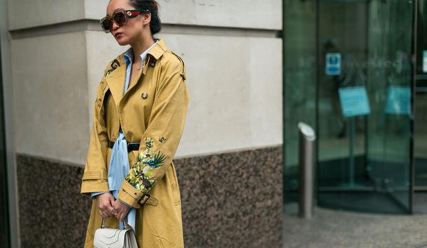 Sokak stili: Londra Moda Haftası 2017