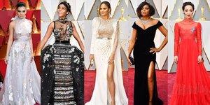 Oscar Ödül Töreni kırmızı halı şıklığı
