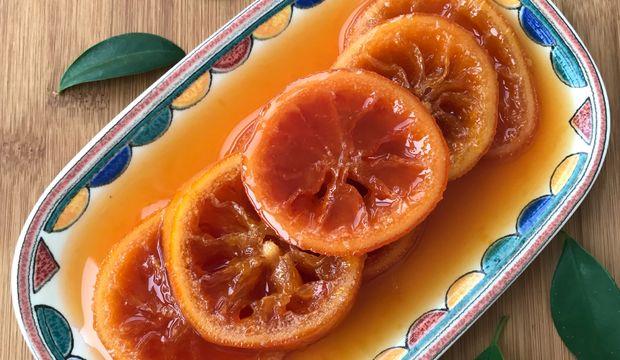 Kan portakalı reçeli