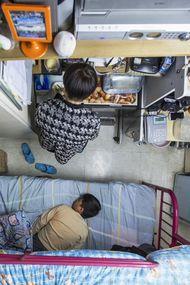 Dünyanın en küçük apartman daireleri