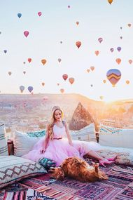 Kapadokya'dan inanılmaz fotoğraflar