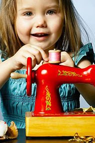 Çocuklarınızla birlikte dikiş dikmeye var mısınız?