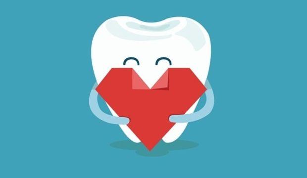 Dişin kökü kalbinize kadar uzanıyor!