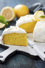 Limonlu kek