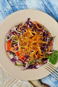 3 renkli patates salatası
