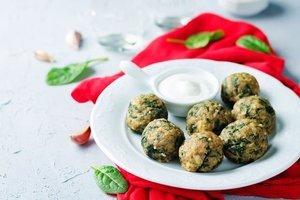 Lezzetine doyamayacağınız ıspanaklı köfteler - Ispanağın en lezzetli hali.