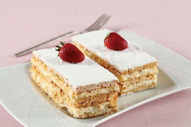 Milföylü yaş pasta - Milföyle harikalar yaratmak istiyorsanız, bu pastayı mutlaka deneyin.