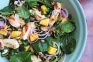 Ispanaklı salata