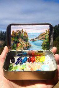 Doğa ile sanat buluşursa...