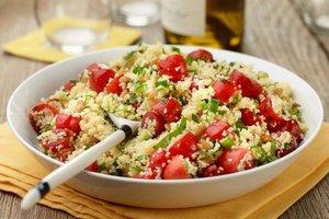 Kuskus salatası - Patatesli kuskus salatasını daha önce...