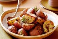 Biberiyeli patates salatası