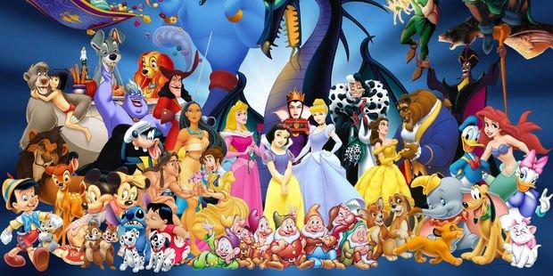 Disney karakterlerini yakından tanıyalım