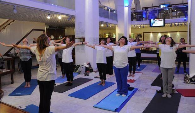 Müzede yoga, yemek ve daha neler