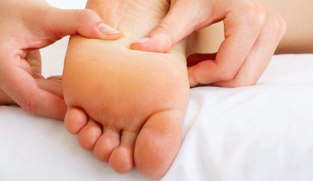 Ayak masajındaki önemli noktalar