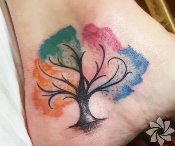 En güzel ağaç dövmeleri