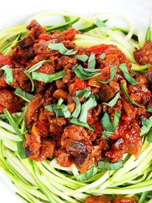 Haftanın fit menüsü: Bolonez soslu fit spagetti